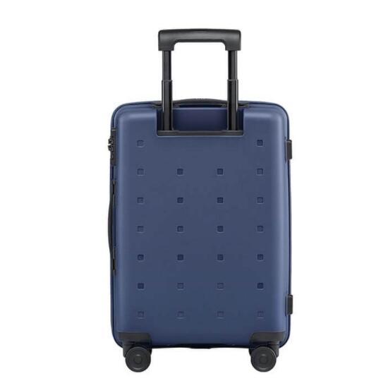 小米(MI)旅行箱青春版20英寸男女行李箱万向轮登机箱密码箱轻巧便携出差旅行拉杆箱箱包 20英寸 黑